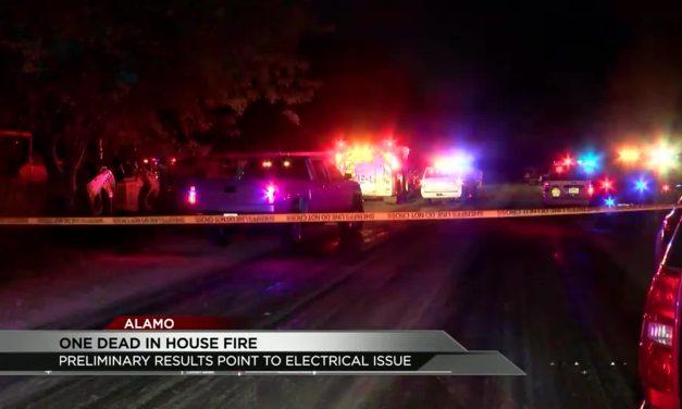 One dead in Tragic Alamo House Fire