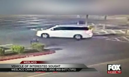 Have you seen this white van? It's tied to several burglaries in Weslaco
