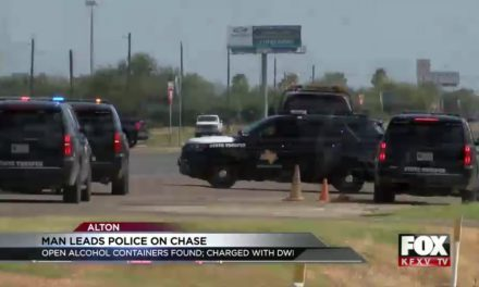DPS Arrests One After Pursuit; Driver Charged With DWI