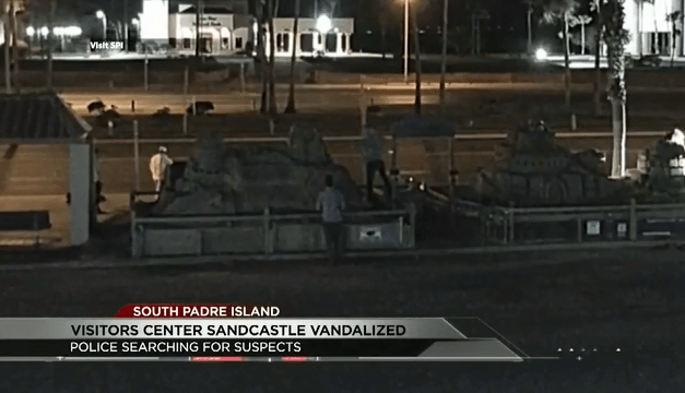 Police Search For Sandcastle Vandals, Over $24,000 In Damages