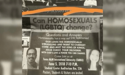 Newspaper Ad Upsets LGBT Community