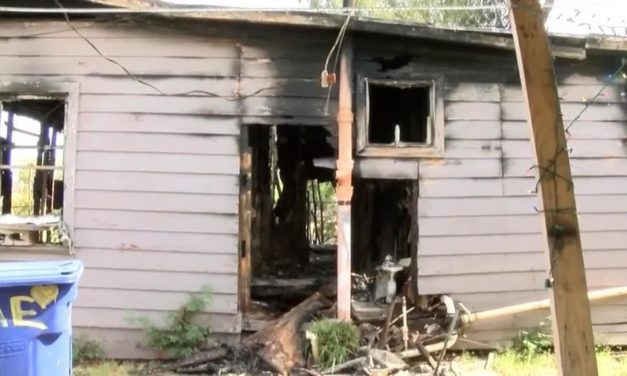 Family Loses Home In Fire, Woman Claims Husband Is Responsible