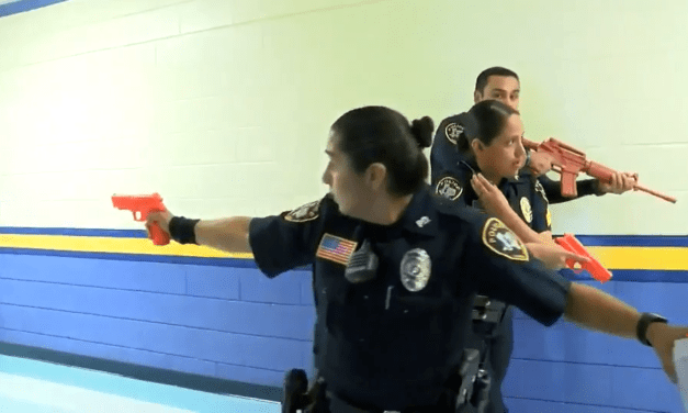 Active Shooter Training Held At Laredo ISD