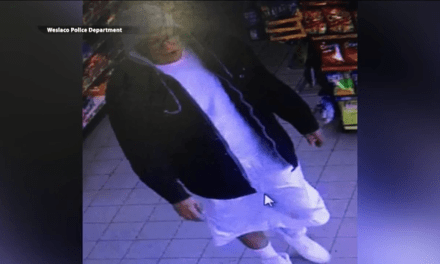 Weslaco Police Search For Aggravated Robbery Suspect