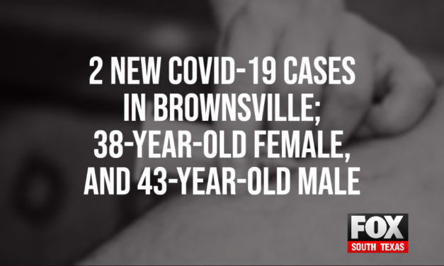 2 New COVID-19 Cases in Brownsville; 38-Year-Old Female, and 43-Year-Old Male