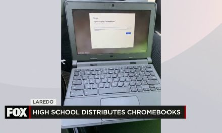 Lyndon B Johnson High School Provides Chromebooks to Students to Continue Classes