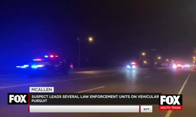 Suspect Leads Several Police Departments on Pursuit thru McAllen