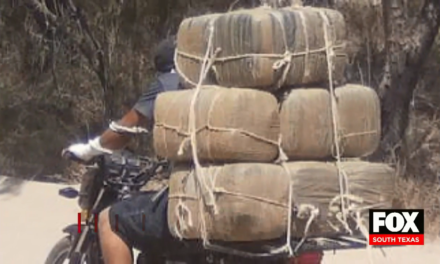 Smuggler Attempts to Cross Narcotics on Motorcycle