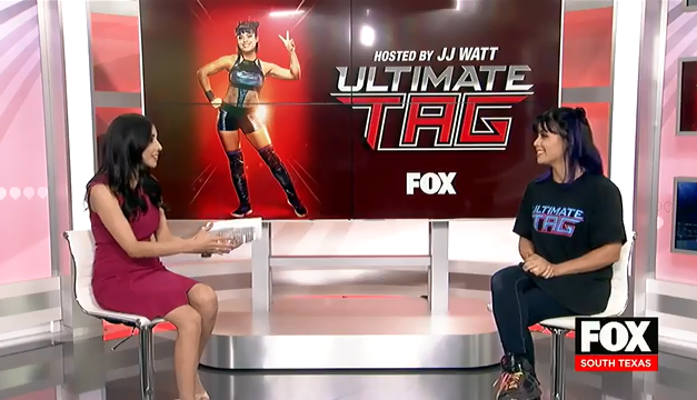 "The ""Atomic Ant"" From Fox's Ultimate Tag Joins Us in The Studio"