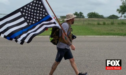 Marine Marches 22 Miles to Honor Our Fallen Heroes