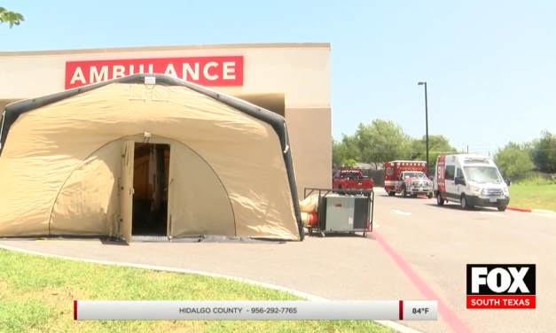 Mobile Tent Facility Set Up To Aid More Patients