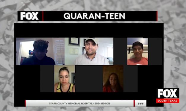 """Team Quaran-Teen"" Focuses On Teen Mental Health During COVID-19 Pandemic"