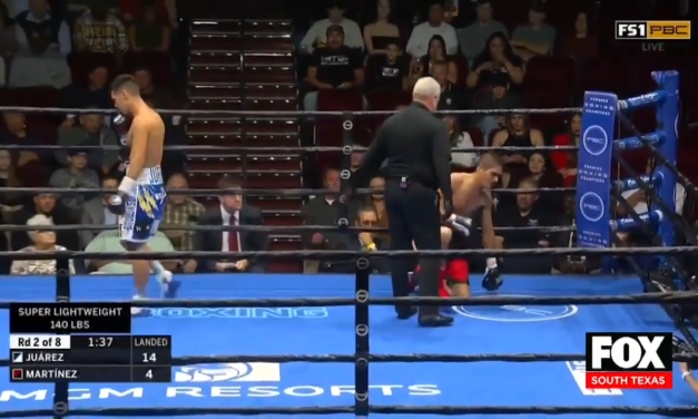 Omar 'Relampago' Juarez Speaks About His Return To The Ring