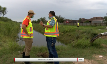 Edinburg Public Works Continues Their Recovery Efforts After Hurricane Hanna